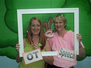 OT and Speech staff