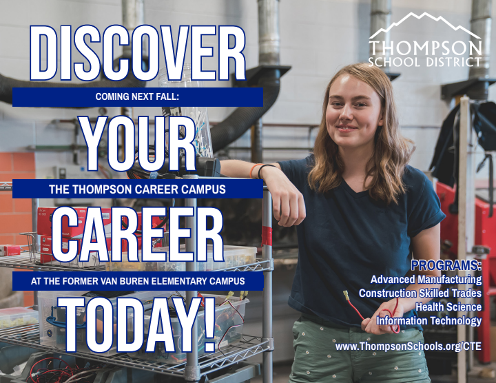 Learn more about Thompson Career Center Campus on Tuesday, December 3, at 7:00 at MVHS