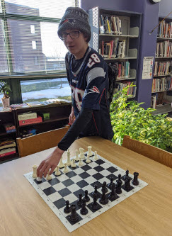 Congratulations to Cleveland Odd on Placing first in the TSD Chess Tournament.