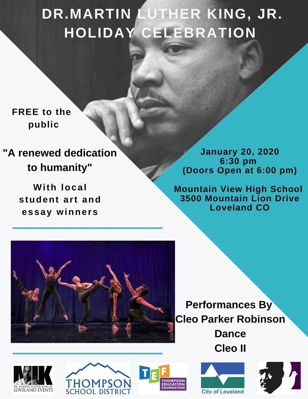 Dr. Martin Luther King Jr. Holiday Celebration