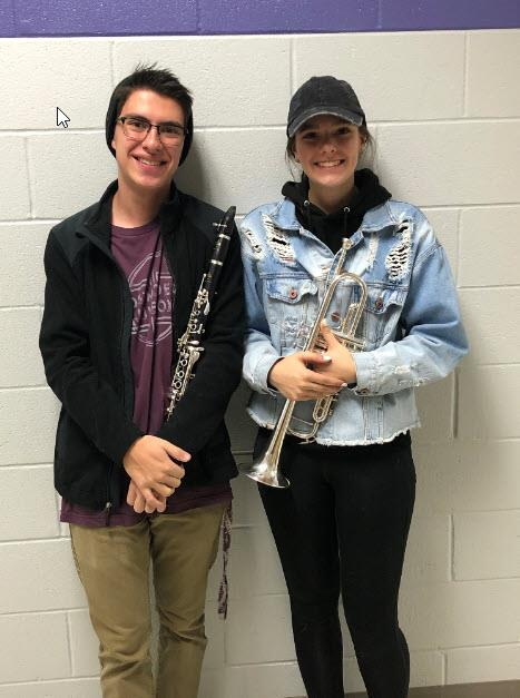 Congratulations to Megan Peebles and Adam Rojas for their selection to the 2020 Northern Colorado Honor Band.