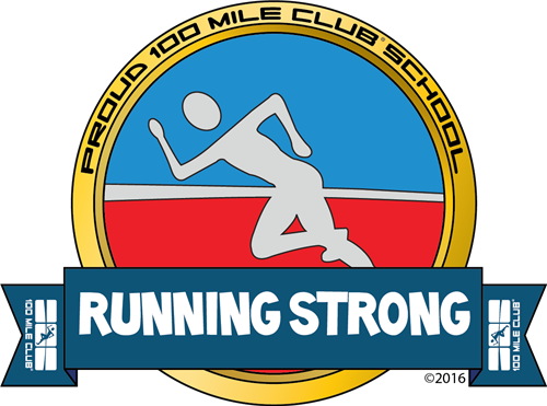 100 Mile Club Logo