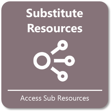 Access Substitute Resources