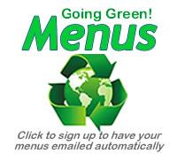 Going Green Menus Logo