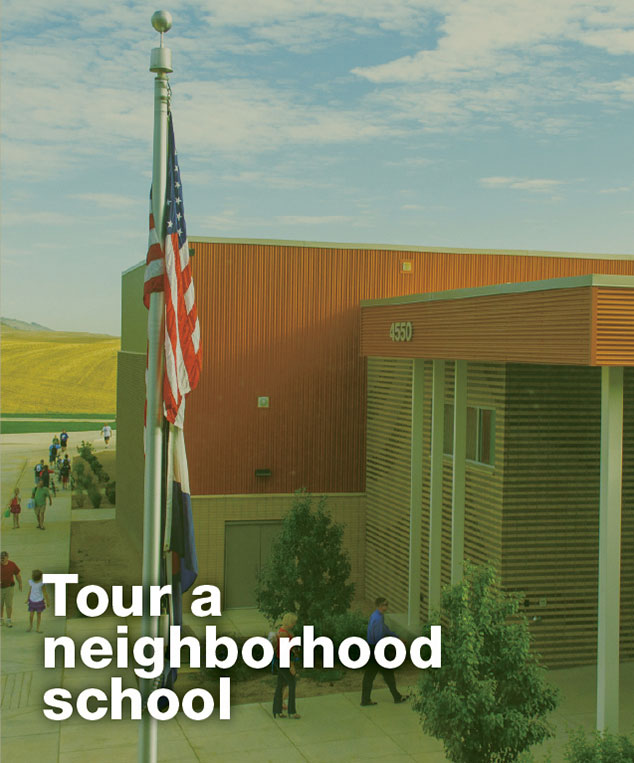 Tour a neighborhood school