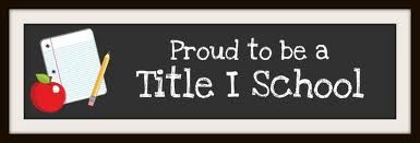 Proud to be a Title I School image