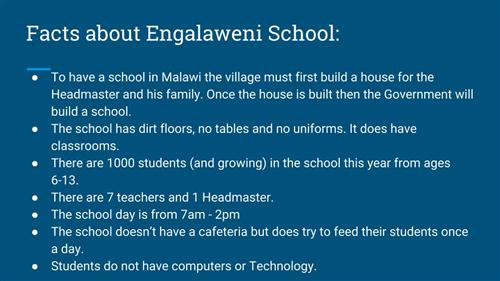 Engalaweni School Facts