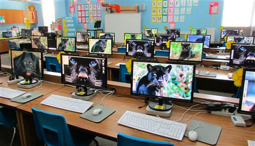 Computer Lab Decoration For Primary School ~ Computer lab home